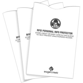 Eagle Creek RFID Blocker Sleeves white